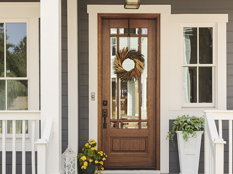exterior doors at Evermark