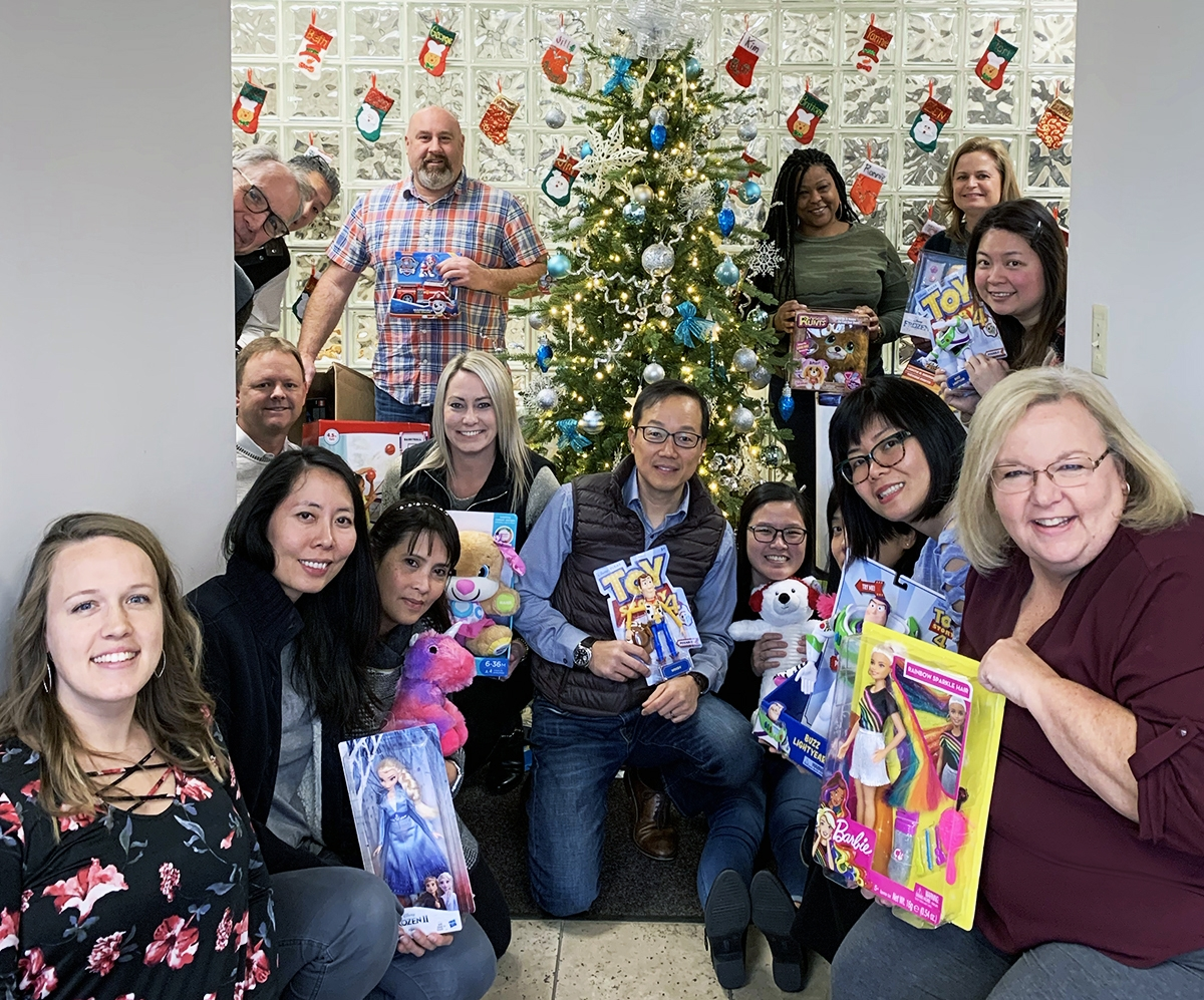 Evermark Christmas Toys for Tots