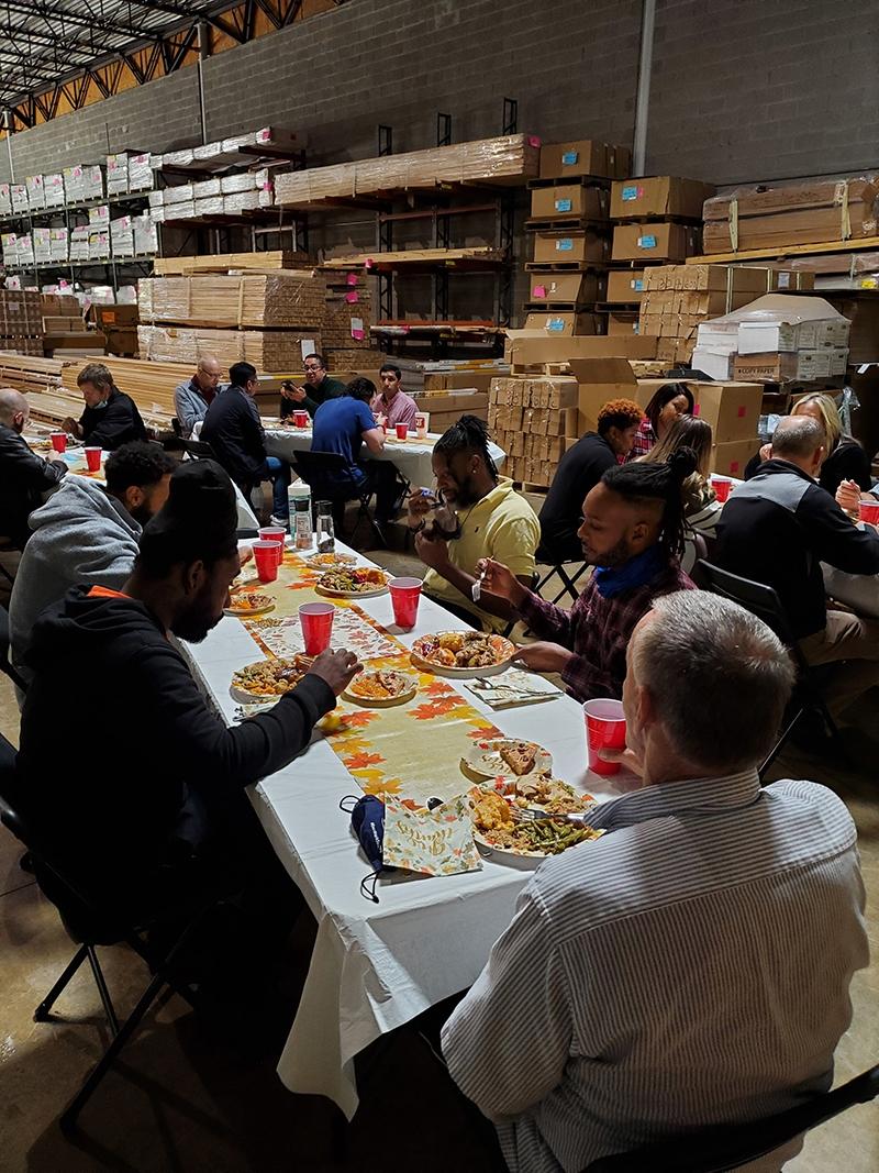 Evermark Team Thanksgiving