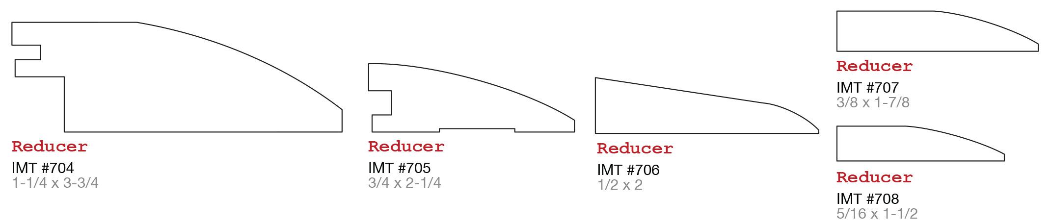 Evermark IMT millwork floor transitions