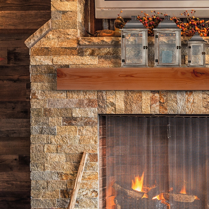 Evermark Expressions Rustic Mantel Beauty Shots