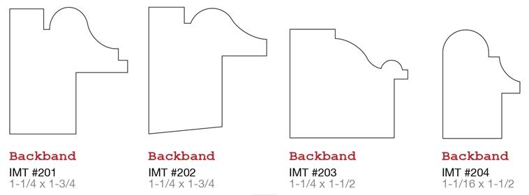 Evermark IMT millwork Back Band 1