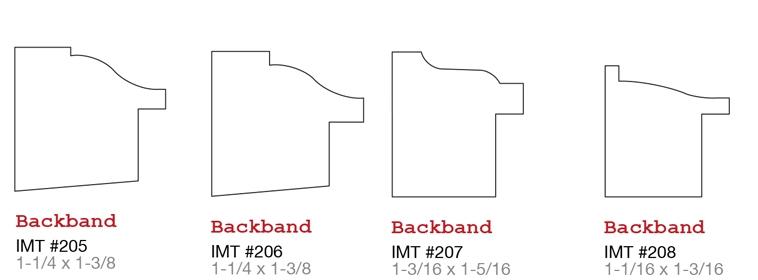 Evermark IMT millwork Back Band 2