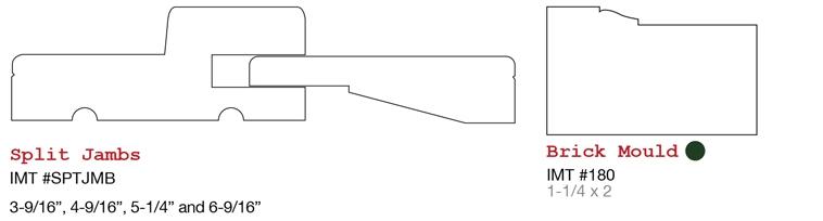 Evermark millwork door components jambs split jambs door stops etc 3