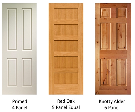 Evermark stile rail wood doors terms 2