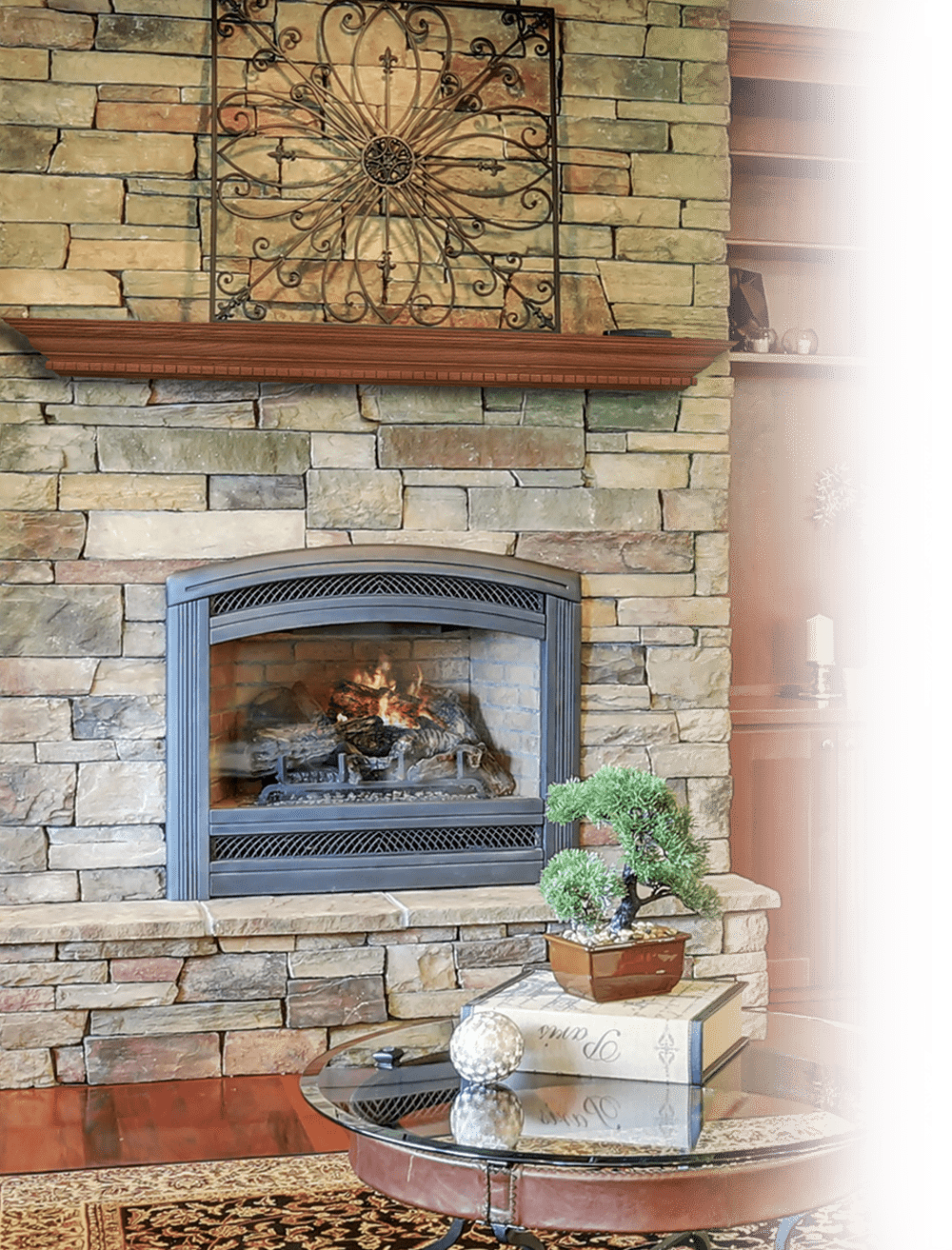 Evermark Expressions fireplace mantel