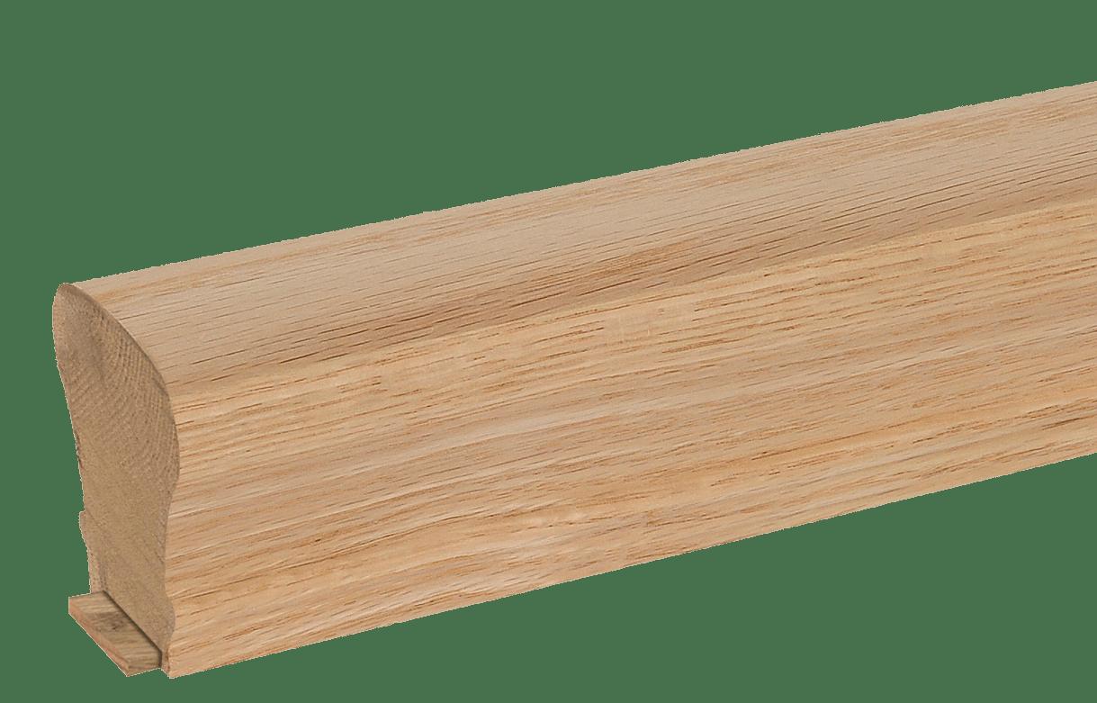 plowed rail stair handrail