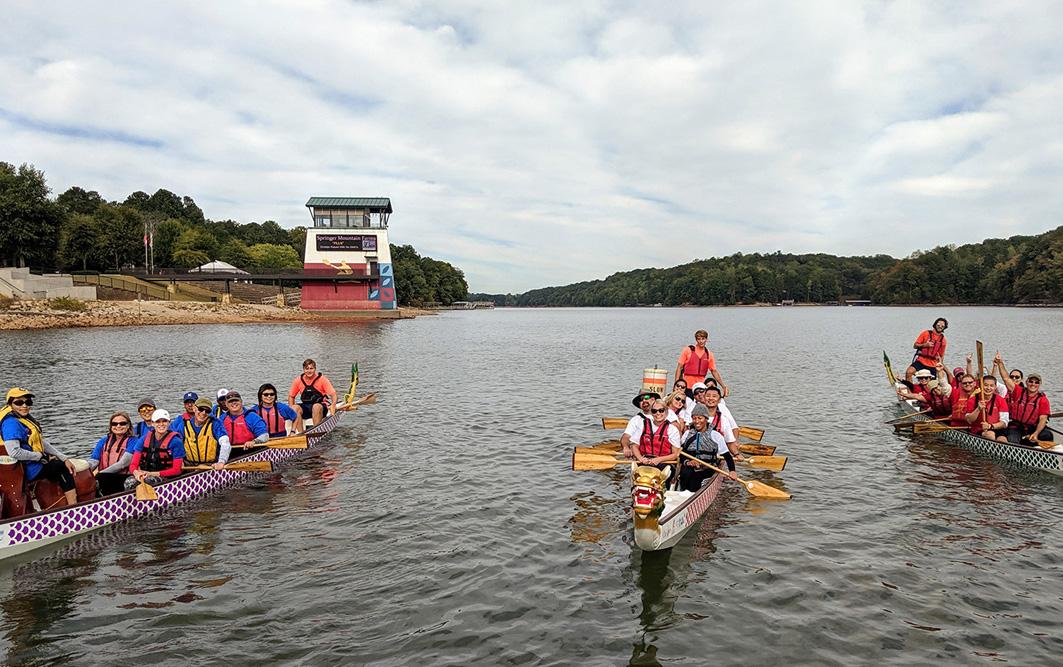 Evermark Dragon Boat Racing